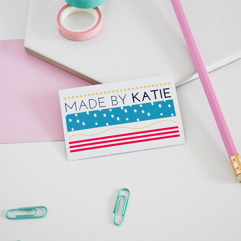 Product photography for Made By Katie